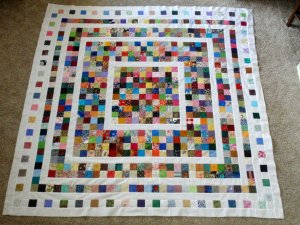 fading charms quilt