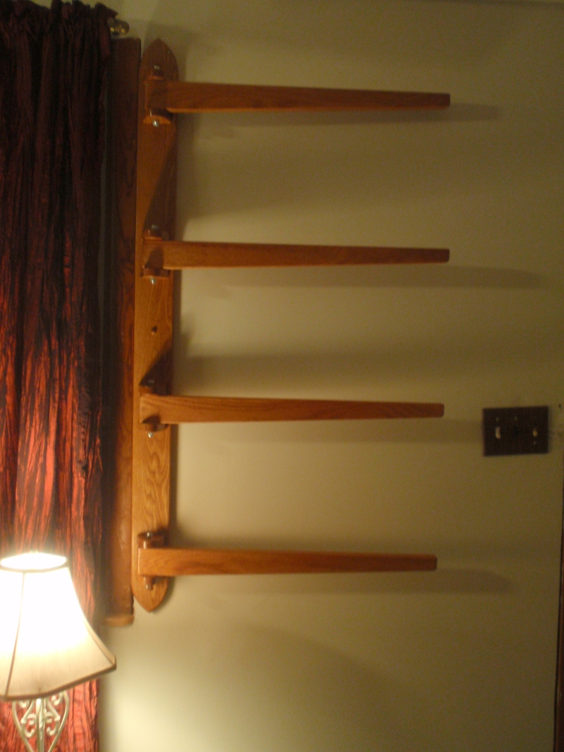 Fantastic Quilt Rack  Woodworking For Mere Mortals