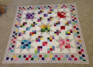 calico rose quilt